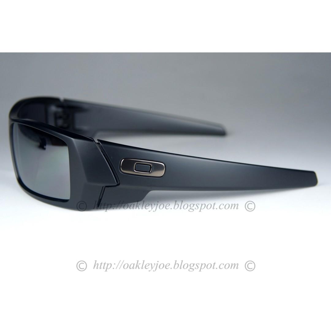2ce2902d0d SALE Brand New Oakley Gascan matte black + black iridium 24-435 ...
