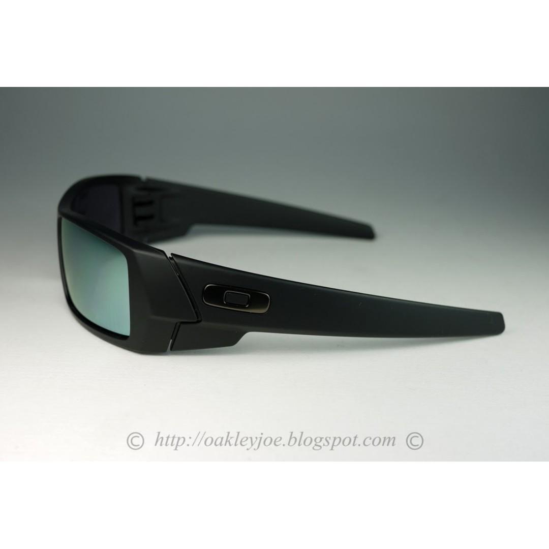 bf9099c87f8c ... switzerland sale brand new oakley gascan matte black emerald iridium 26  245 mens fashion accessories on