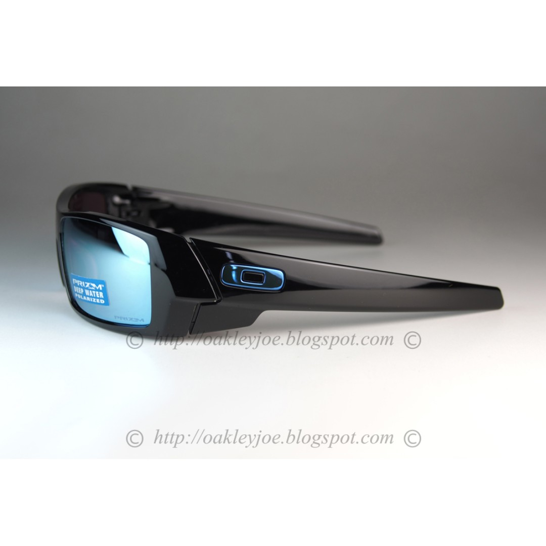 2cef4c68d689c ... best price sale brand new oakley gascan polished black prizm deep water  polarized oo9014 15 mens