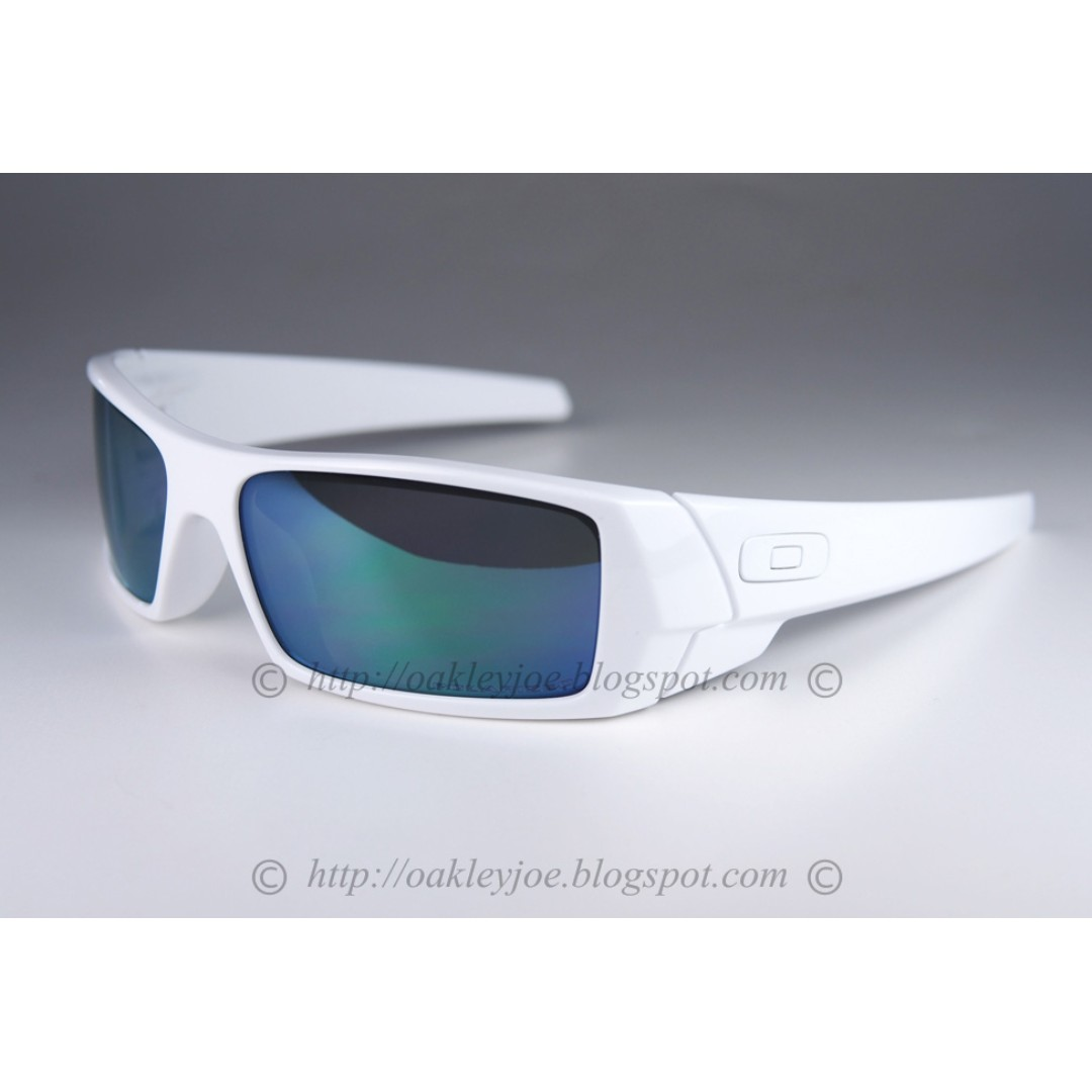 94678066230 ... closeout sale brand new oakley gascan polished white jade iridium  polarized 24 363 mens fashion accessories