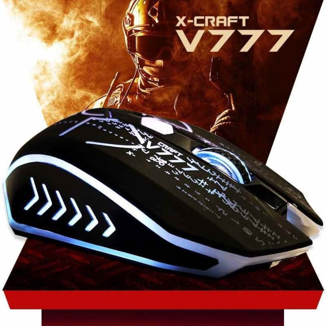 Sold Instock Alcatroz X Craft V777 Gaming Mouse Electronics Xcraft Computer Parts Accessories On Carousell