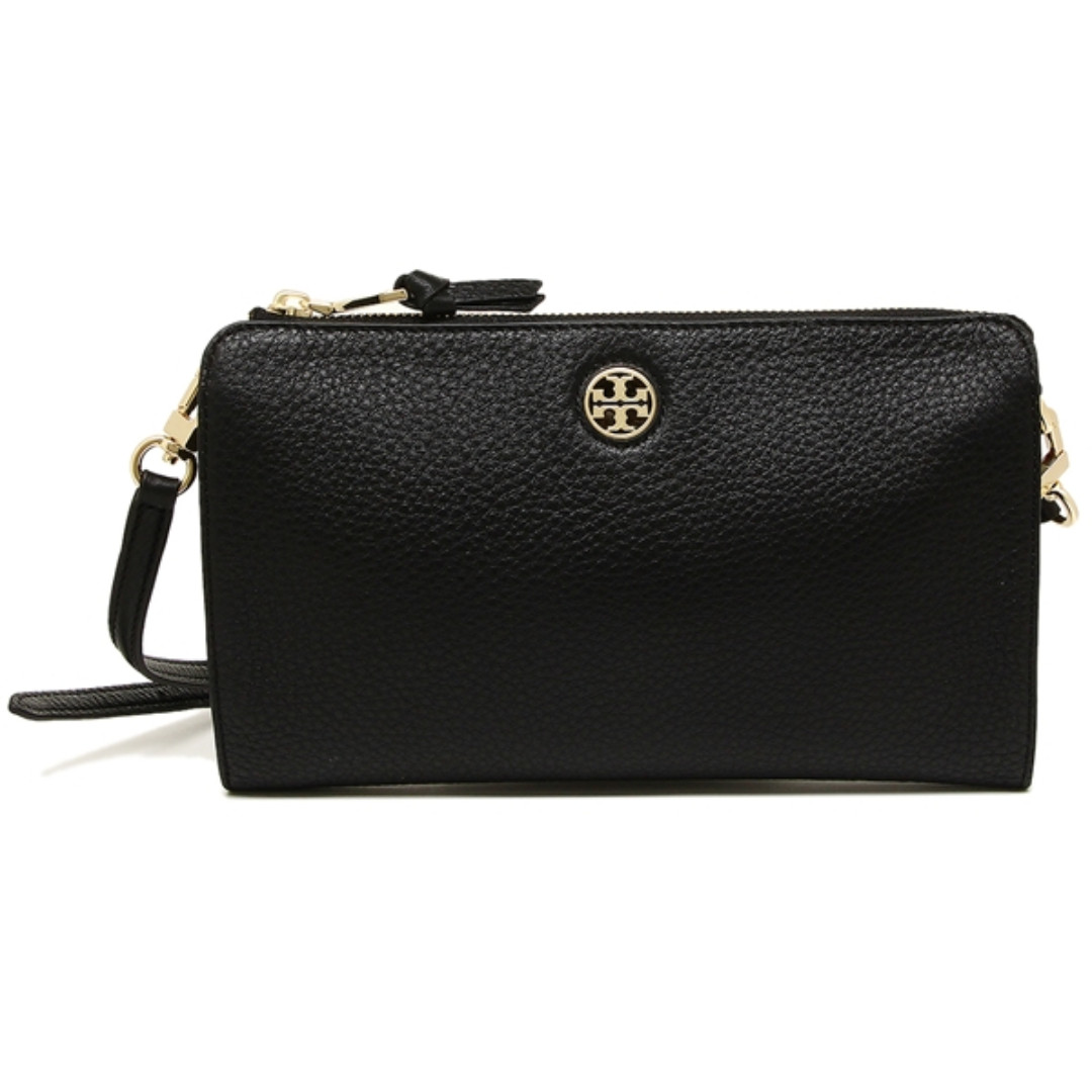 93c874a2a2f2 Tory Burch Brody Pebbled Wallet Crossbody