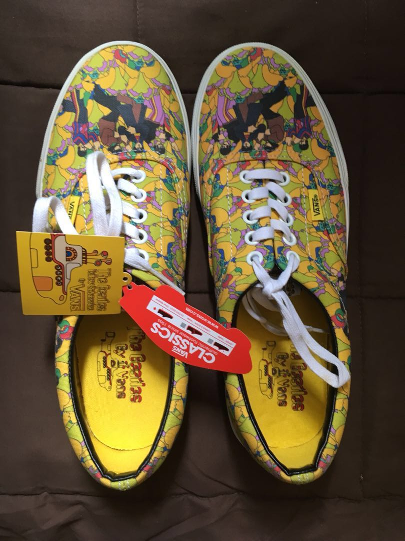 8c048e309b Vans Limited Edition Beatles Yellow Submarine Sneakers