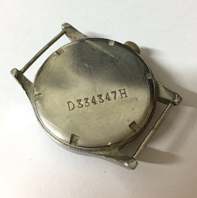 Vintage watch SILVANA WWll 德軍軍錶