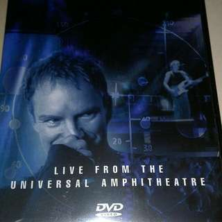 STING - THE BRAND NEW DAY TOUR DVD VIDEO