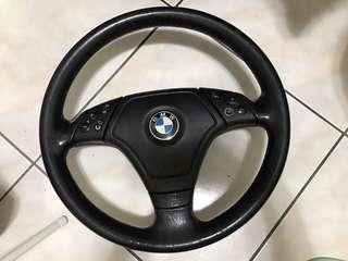 BMW E46 三幅 方向盤