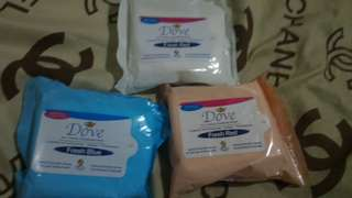 Dove Cleansing Wipes