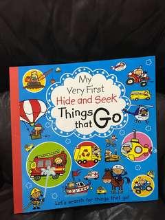 My Very First Things That Go (Hide&Seek)