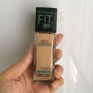 REPRICED! Maybelline Matte + Poreless Foundation