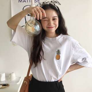 [PREORDER] pineapple top / t-shirt