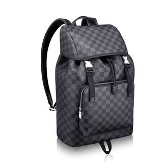 Louis Vuitton Zack Backpack Black Like new