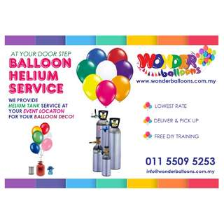 DIY HELIUM TANK FOR BALLOON - 100 PCS AND ABOVE