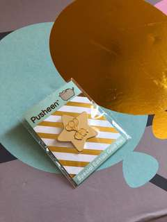 Pusheen Special Edition Gold Pin