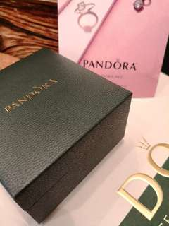 Pandora classic elegance necklace & earring studs set