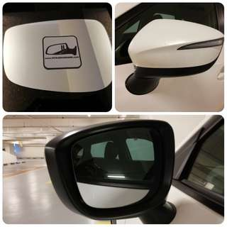 Mazda CX3 CX5 side mirror all models and series