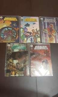 star wars comics Droid #1 - 6