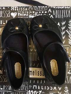 Mini Melissa Ballet Black S6/S7
