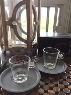 5 Sets of Nespresso Espresso Cups