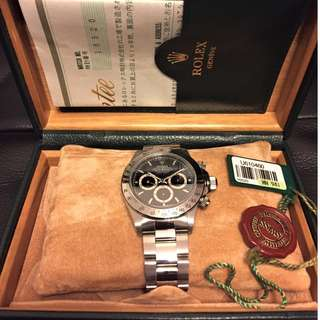 Rolex Daytona Zenith 16520 (Box + Paper) Checked by RSC 14F