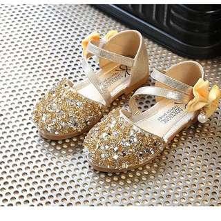 Babygirl Gold Shoes
