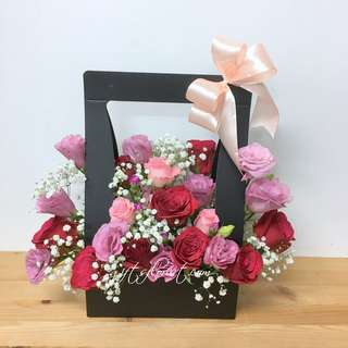 Daily Flowers Special- Hand Carry Box Flowers For All Occasions
