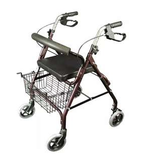 Adult Walker with Seat and Breaks