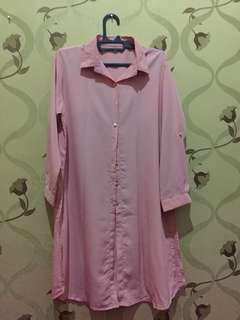 Softpink long top