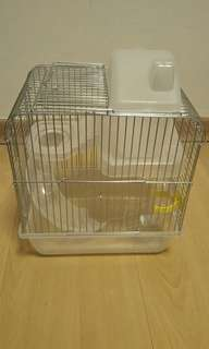 2-storey hamster cage