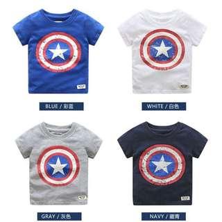 Marvel's Avengers Captain America T-shirt (3-8YO)