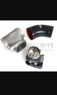 "Porsche 997 IPD INTAKE PLENUM ""COMPETITION"" 82MM + GT3 THROTTLE BODY"