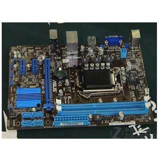 🚚 華碩 H61 M-E ( 網、音、顯 ) 1155腳位整合式主機板、記憶體支援DDR3、支援二代,三代處理器、附檔板