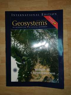 Geosystems: An Introduction to Physical Geography, 5th Edition (International Edition)