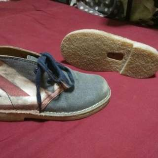 Kids Clarks desert boot bmx red wing vans supreme