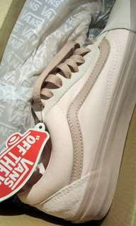 VANS OLD SKOOL PEARL/MAHOGANY ROSE *repriced