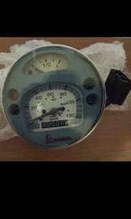 Speedometer px vespa classic
