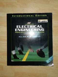 Electrical Engineering: Principles & Applications (3rd Edition)