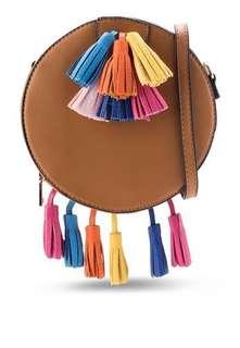 Zalora Multi Color Tassel Crossbody Bag
