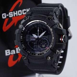 Jam Tangan G-Shock MUDMASTER KW GG-1000 Full Black