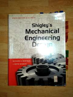 Shigley's Mechanical Engineering Design (9th Edition in SI Units)