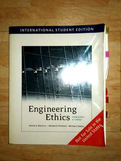 Engineering Ethics: Concepts and Cases (4th International Student Edition)