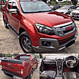 SAMBUNG BAYAR / CONTINUE LOAN  ISUZU DMAX SAFARI 4x4 VGS 3.0 INTERCOOLER TURBO FULL SPEC