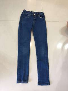 女童Zara牛仔褲140cm