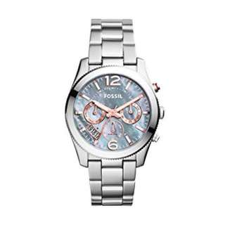 FOSSIL PERFECT BOYFRIEND MULTIFUNCTION STAINLESS STEEL WATCH