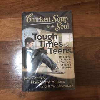chicken soup for the soul tough times for teens NEW