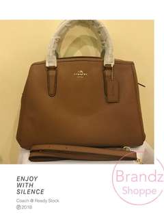 💝SALE! 💯% Ori Coach Women Margot Handbag @ Brown 👜 (Ready Stock)