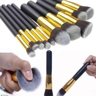 10 + 1 pcs make-up brush set