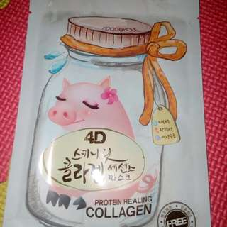 Protein Healing Face Mask with Collagen