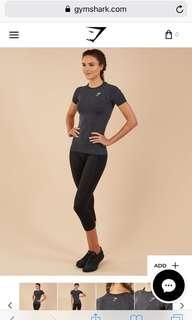 Short sleeve workout shirt (Gymshark)