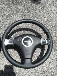 Steering Momo Leather Tiptronik Shift