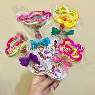 Twisted Lollipop with T.Y Tag